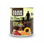 Farm Fresh Kangaroo with Cranberries 800g