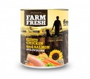 Farm Fresh Chicken and Salmon 800g